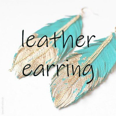 leather-earring
